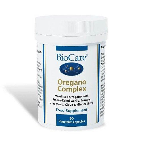 Biocare Oregano Complex (anti yeast formula), 60 vegi tapasules
