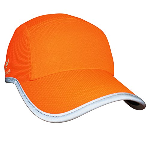 Headsweats Performance Race/Running/Outdoor Sports Hat (One Size, Neon Orange)
