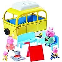 Peppa Pig 84211 -  Caravana con accesorios, Amarillo