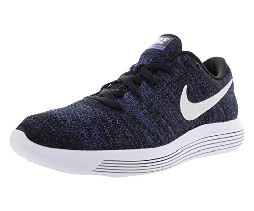 Nike LUNAREPIC LOFLYKNIT womens running-shoes 843765-005_5.5 - BLACK/WHITE-DK PURPLE DUST