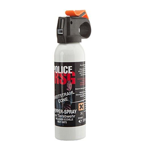 RSG Abwehrspray Pfefferspray, 200 ml Breitstrahl mit Weitstrahlventil