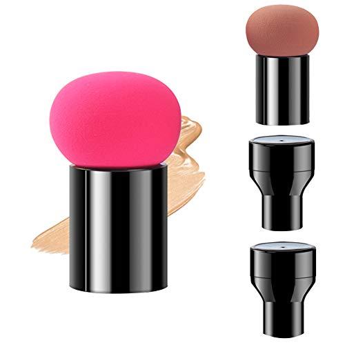 Make-up Puff, Cosmetische Blending Sponges Paddestoel Hoofd Poeder Puff Face Foundation Sponge Beauty Poeder Puffs met Cases, voor droog en nat gebruik
