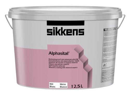 Sikkens Alphasital weiß, 12,5 Liter