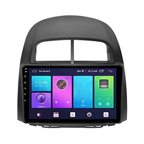 Benature Android Car Stereo Sat Nav para Toyota Passo 2005-2011 Unidad Principal Sistema de navegación GPS SWC 4G WiFi BT USB Enlace de Espejo Carplay Incorporado