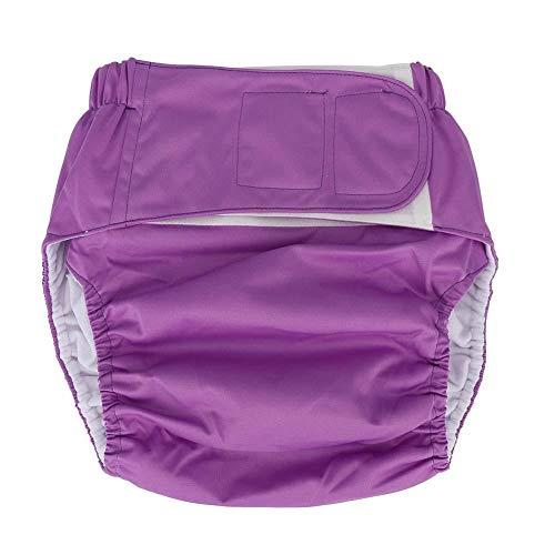 Pannolino in tessuto impermeabile e riutilizzabile per adulti, per la protezione...