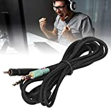 minifinker Spielkopfhörerkabel Zusatzkabel für G4ME ONE Twisted Pairs G4ME ONE/Game Zero für Sennheiser PC 373D/GSP350/
