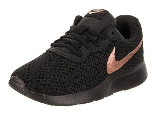 Nike Women's, Tanjun Running Sneaker Black Bronze 9 M