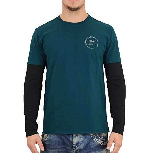2016 Billabong Surplus Long Sleeve T-Shirt DEEP SEA Z1JE12 Sizes- - Small