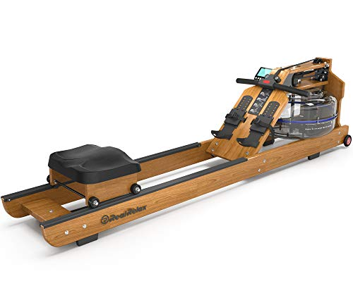 Real Relax Rowing Machine for Home Use, Water Resistance Rowing Machine with LED Display, Usually Used for Indoor Aerobic Exercise and Fitness(Included an Electric Pump)
