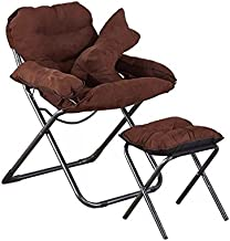 Isasar Outdoor Camping Portable Chair Ultra Small Compact Folding Chair Mini Holds up to 132lbs for Fishing Hiking Camping and Travel