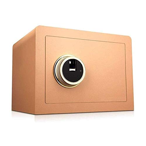 GGDJFN Insurance Box Safebox Safes, Electronic Password Anti-Theft System Embedded Multi-Color Cabinet Safes For ID Papers, A4 Documents, Laptop Computers, Jewels - 36X30X26.5cm
