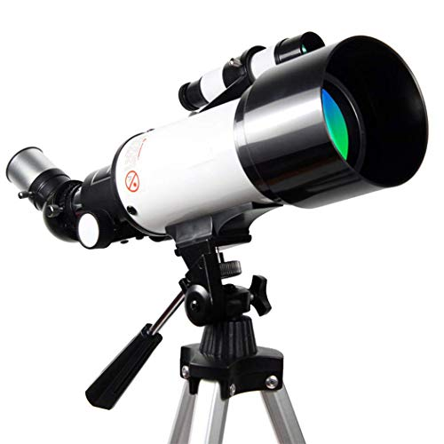 H.Slay Telescopio astronómico refractivo para niños, monocular portátil, iluminación Espacial Telescopio de Regalo para niños Observación de Estrellas en el Cielo y la Tierra
