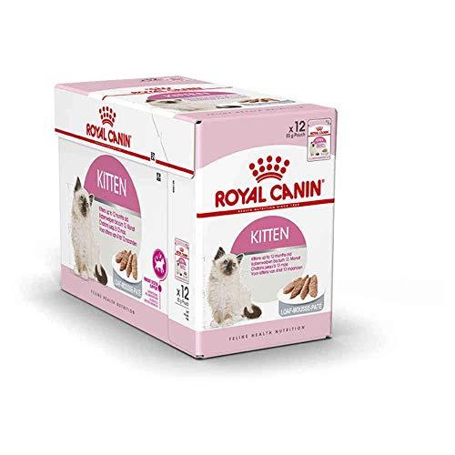 Royal Canin Kitten Comida para Gatos, 85 gr, paquete de 12 🔥