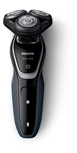 Philips S5110/06 - Afeitadora eléctrica, uso en seco, con recortador de precisión...