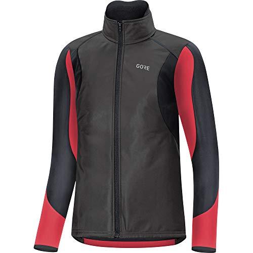 GORE WEAR C5 Thermo Chaqueta de Mujer para Ciclismo Gore-Tex INFINIUM, 34, Negro/Rosa