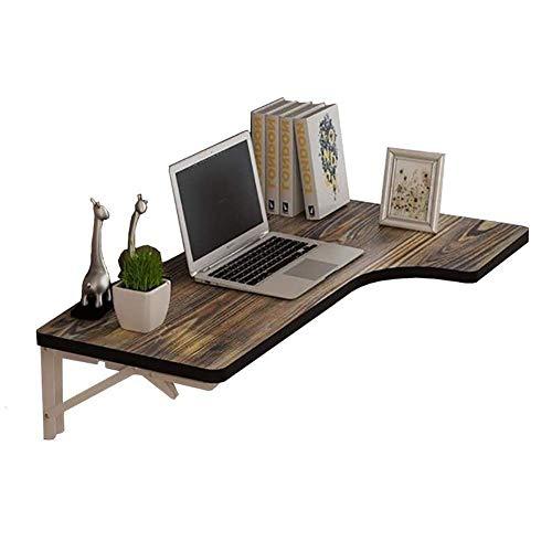 WTT Vouwtafel Tuintafels Eettafel Opgeschorte tafel Vouwtafel Blad Bureau Plank Keuken Computer Bureau Werkbank Eettafel Eenvoudig te installeren tafel (Afmetingen: 80x60x35cm)