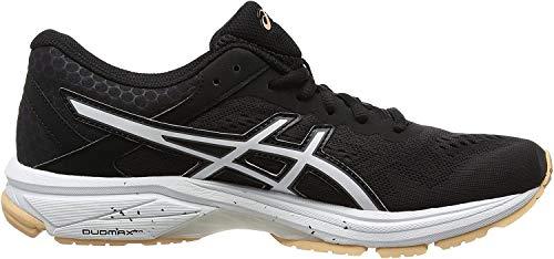 Asics GT-1000 6, Zapatillas de Entrenamiento para Mujer, Negro (Black/canteloupe/Carbon 9030), 39 EU