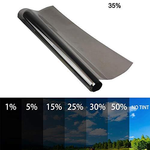 Pumpumly - Pellicola oscurante per finestrini auto, 50 x 600 cm, protezione solare dai raggi UV