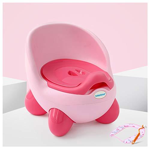 Apprentissage de la propreté Toilette pour Enfant Toilette pour garçon Toilette pour Enfant Toilette pour Enfant Toilette pour Enfant Femme Toilette pour bébé (Couleur : Pink)