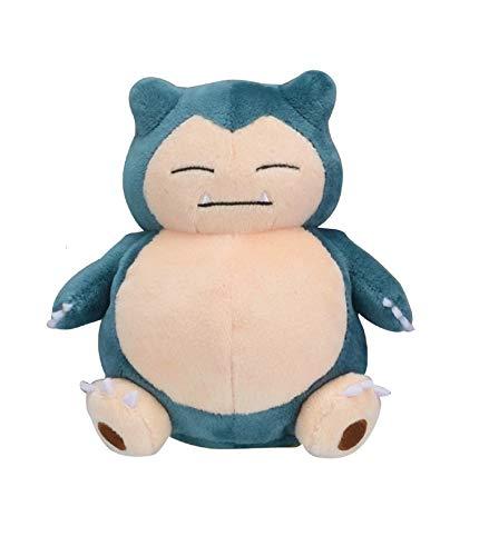Pokemon Center Original Pokemon Fit Snorlax Ronflex Relaxo Plush Peluche Plüschtier
