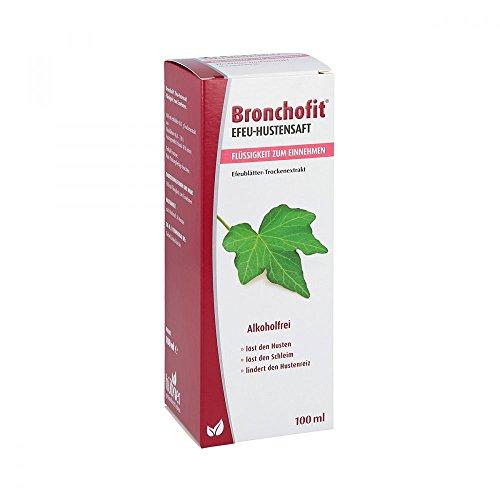 BRONCHOFIT Efeu-Hustensaft 8,7 mg/ml Flüss.z.E. 100 ml