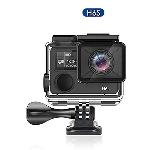 DZSF Original H6S Ultra HD Action Camera with Ambarella A12 Chip 4K/30Fps 1080P/60Fps EIS 30M Waterproof Sport Camera