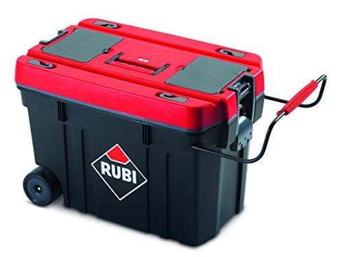 Rubi 71954 Caja herramientas de plástico, Rojo