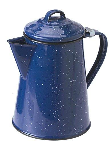 GSI Kaffeekanne Emaille, blau, 15152
