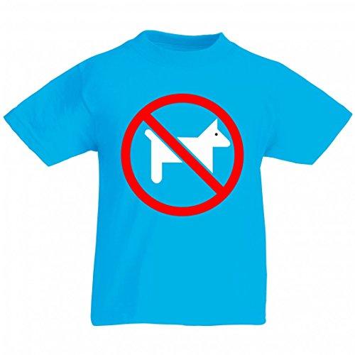 Camiseta con texto en alemán 'Anmelden' ('Keine Haustiere- Symbol- WARNUNG- VERBOTEN- EINGESCHRÄNKT- Haustiere- Tiere- Rot- Kreis- RUNDE para hombres, damas, niños - 104-5XL) azul Talla del hombre: 5X-Large