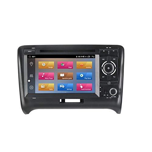 WHL.HH Carro Cabeza Unidad HD IPS Capacitivo Multi Tocar Pantalla Navegación por satélite por TT Androide Auto Radio Multimedia Jugador GPS Navegación Apoyo SWC Bluetooth Video Receptor,2+16G