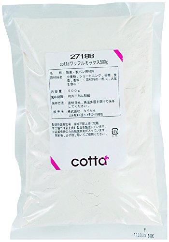 cotta(コッタ) ベルギーワッフルミックス 500g