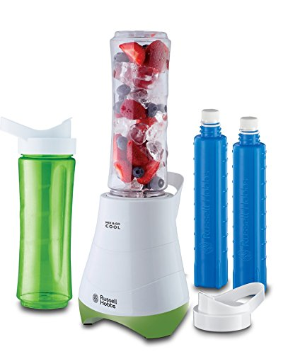 Russell Hobbs Kitchen Collection Mix & Go - Mini batidora,...