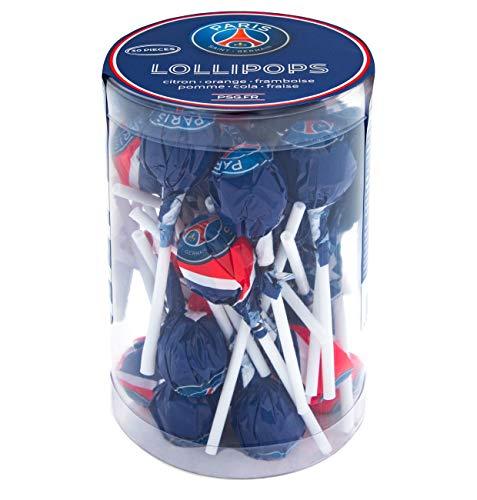 PSG Paris Saint-Germain Lollipops, Lutscher, per stuk verpakt (1 x 300g)