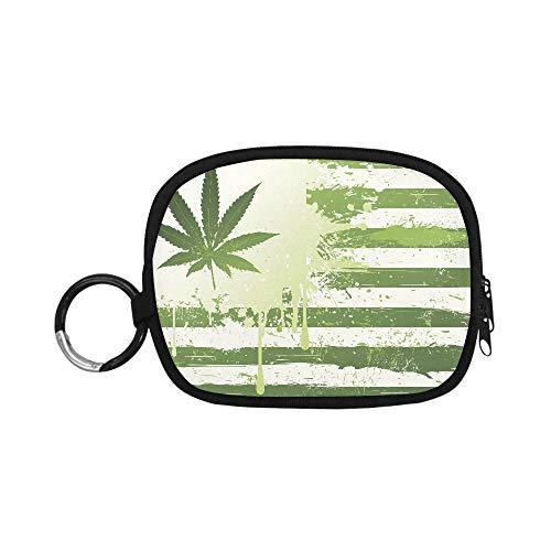 Monedero Bolsa Marihuana Weed Mary Jane Drogas X Señoras Monedero Bonito Monedero...