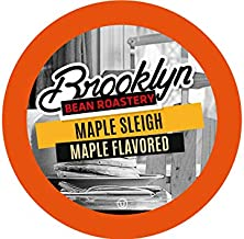 Brooklyn Beans Maple Sleigh Coffee Pods, Compatible with 2.0 K-Cup Brewers, 40 Count