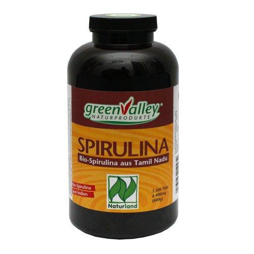 greenvalley bio spirulina tabletten 1500 St