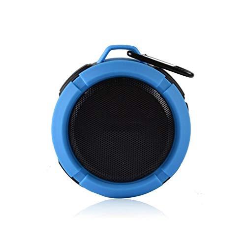 Yeyubh Estéreo portátil Altavoz Bluetooth inalámbrico for Exteriores música Altavoz subwoofer Altavoz de los Deportes de Bluetooth portátil Bass Altavoz USB (Color : Red)
