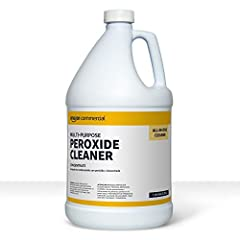 1 gallon bottle of multi-purpose peroxide cleaning solution for a wide variety of surfaces and environments Harnesses the power of oxygen to activate bubbles that break down dirt and grime Ideal for commercial properties, retail, and hospitality; mul...