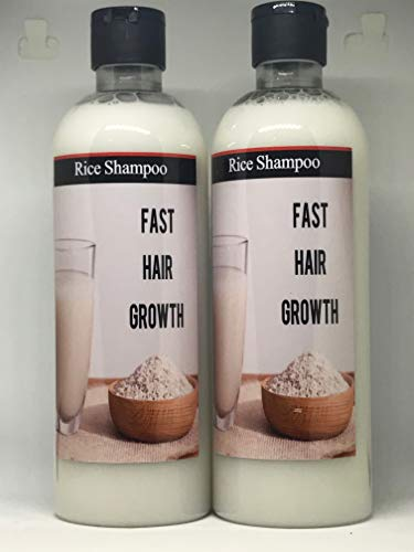 Rice Shampoo for Hair Loss treatment, Detangling the hair, makes hair smoother, increases shine, makes hair stronger, helps hair grow long,