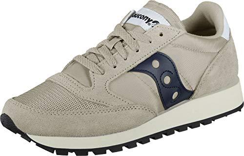 Saucony Jazz Original Vintage, Sneakers Unisex-Adulto, Tan Navy 54, 44 EU
