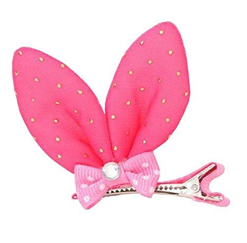 oreilles de lapin conception bébé filles mignonnes barrettes, 10 PCS