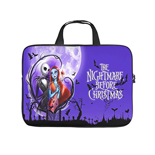 Sally e Jack Halloween Nightmare Before Christmas - Borsa antistatica per PC portatile per università, lavoro e lavoro
