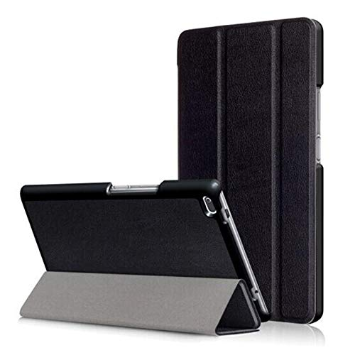 RZL PAD & TAB cases For Lenovo Tab 2 8.0 inch, Tablet Case Bracket Flip Fashion Leather Cover For Lenovo Tab 2 A8-50 A8-50F A8-50LC Tab2 A8 50 50F 50LC Tab2 8.0 inch (Color : KST Black)