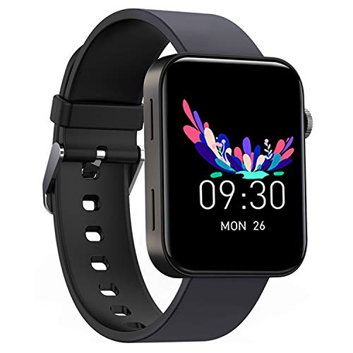 """Smart Watch IP67 Sports Waterproof-HAOQIN QS1 HaoWatch Full Touch Smart Watch 1.54"""" Screen Fitness Tracker With Heart rate Sleep Monitor for Men And Women Smart Watches Bluetooth 4.0 Android IOS Black"""