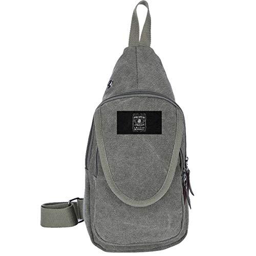 AHISHNF Proper 12 Irish Whiskey McGregor inspiriertes Druckdesign Reisetasche Brusttasche für Herren und Damen, Mehrzweck-Tagesrucksack, Wandern, Schultertasche