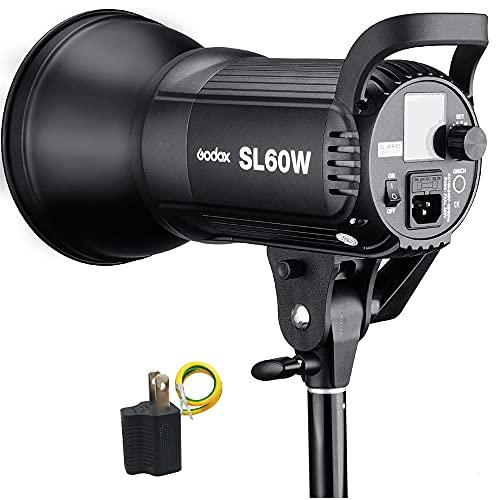 【GODOX 正規代理店 日本発送翌日達 PSE認証済み】GODOX SL-60W ビデオカメラライト LEDスタジオライト 560...