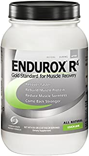 PacificHealth Endurox R4, All Natural Post Workout Recovery Drink Mix, Net Wt. 4.56 lbs, 28 Servings (Lemon Lime)