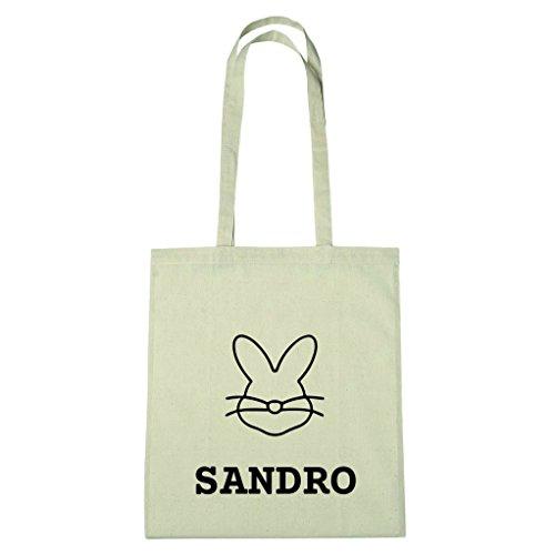 JOllify katoenen tas Pasen cadeau voor SANDRO BHE5901 Paashaas