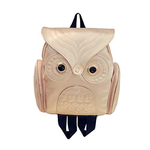 N-B Cute Owl Fashion Backpacks Cartoon Women Backpack Soft Back School Bags Teenage Backpacks For Girls