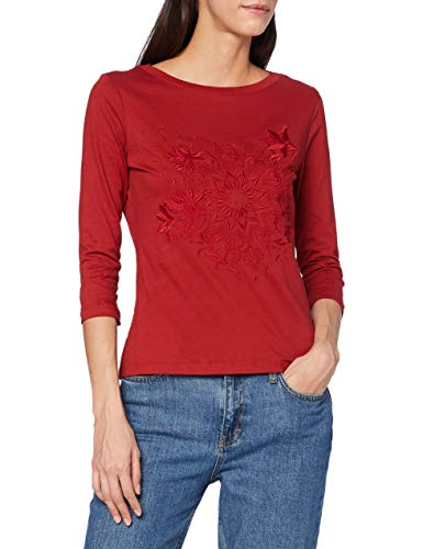 Desigual TS_Dublin T-Shirt Femme,rouge , M